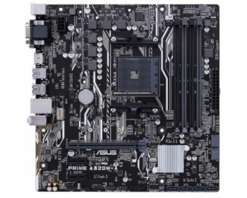 ASUS PRIME A320M-A RTL Soc-AM4 AMD A320 4xDDR4 mATX AC`97 8ch(7.1) GbLAN RAID+VGA+DVI+HDMI