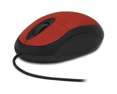 CBR CM 102 Red USB , оптика, 1200dpi, офисн., провод 1,3м
