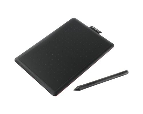 Wacom One by Small USB черный/красный CTL-472-N