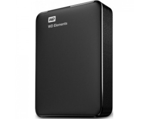 WD Portable HDD 4Tb Elements Portable WDBU6Y0040BBK-WESN USB3.0, 2.5, black