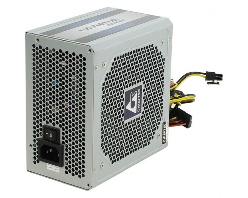 Chieftec 700W OEM (GPC-700S) ATX v.2.3,КПД > 80%, A.PFC, 2x PCI-E (6+2-Pin), 6x SATA