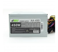 AirMax AA-450W Блок питания 450W ATX (24+4+6пин, 120mm (SCP)(OVP)(OCP)(UVP)ATX 12V v.2.3)