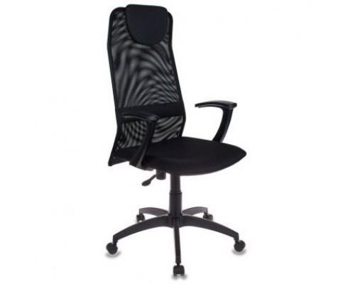 Кресло руководителя Бюрократ KB-8/BLACK черный TW-01 TW-11 сетка 492617