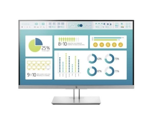 Монитор LCD HP 27 E273 Black-silver IPS 1920x1080 5мс 250 cd/m2 1000:1 178°/178° VGA HDMI DisplayPort 1FH50AA#ABB