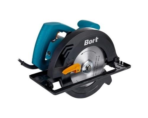 Пилы Bort BHK-185U Пила циркулярная BHK-185U  1250 Вт, 5600 об/мин, мм, 20мм, 4.1 кг, набор аксессуаров шт