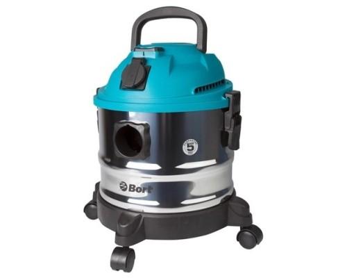 Пылесосы строительные Bort BSS-1015 строительный 98297041  1250 Вт, вместимость 58 л/сек, кг, набор аксессуаров шт