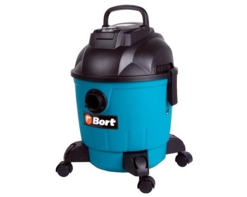 Пылесосы строительные Bort BSS-1218 строительный 91272256  1200 Вт, вместимость 26,5 л/сек, 6,3 кг, набор аксессуаров шт
