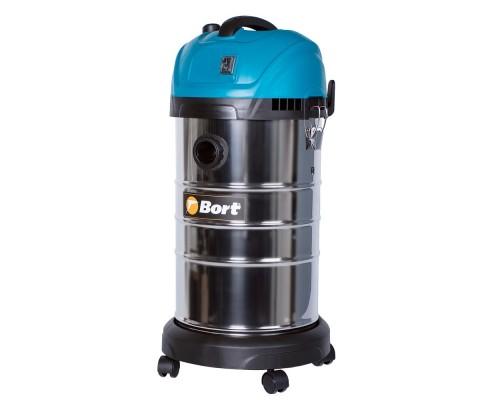 Пылесосы строительные Bort BSS-1630-SmartAir строительный 91272294  1600 Вт, вместимость 45 л/сек, кг, набор аксессуаров шт