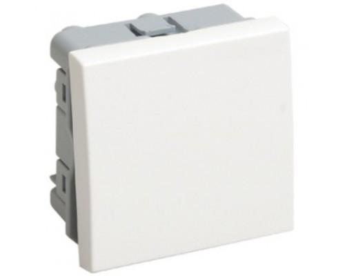 Iek CKK-40D-VO2-K01 ВКО-21-00-П Выключатель одноклавишный (на 2 модуля) ПРАЙМЕР белый