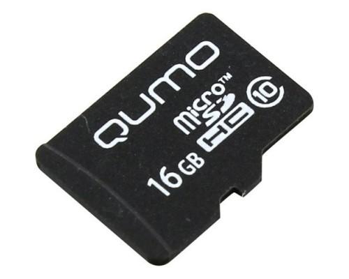 Micro SecureDigital 16Gb QUMO QM16GMICSDHC10NA MicroSDHC Class 10