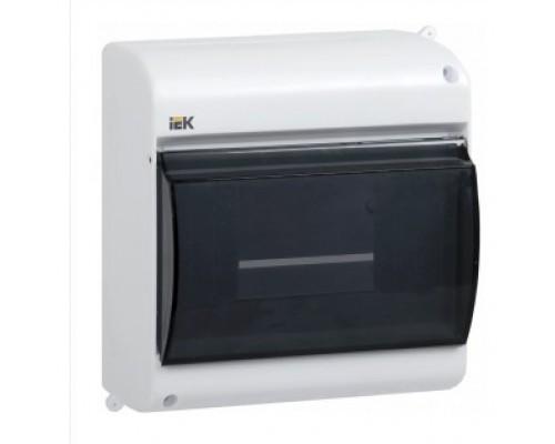 IEK_MKP42-N-04-30-12_Бокс с прозр.крышкой КМПн 2/4 для 4-х авт.выкл.наружн.уст. ИЭК