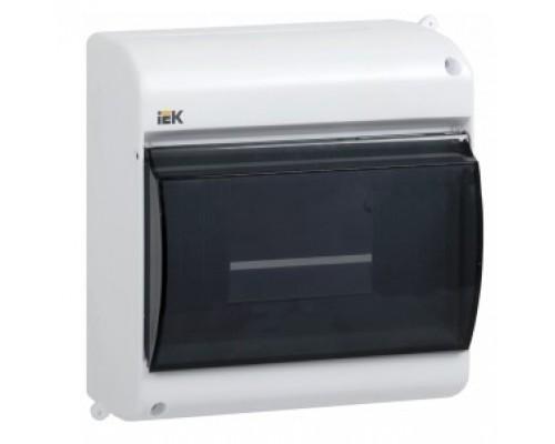 IEK_MKP42-N-06-30-09_Бокс с прозр.крышкой КМПн 2/6 для 6-х авт.выкл.наружн.уст. ИЭК