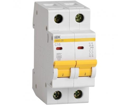Iek MVA20-2-003-B Авт. выкл.ВА47-29 2Р 3А 4,5кА х-ка В ИЭК