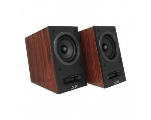 Колонки CBR CMS 590 wooden 2x5BT, 90-20000МГЦ, 60ДБ