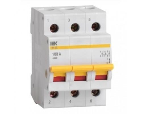 Iek MNV10-3-063 Выключатель нагрузки (мини-рубильник) ВН-32 3Р 63А ИЭК