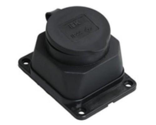 Iek PKR11-016-2-K02 РБ13-1-0м Розетка с защитной крышкой настенная ОМЕГА IP44
