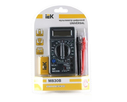 Iek TMD-2B-830 Мультиметр цифровой Universal M830B IEK