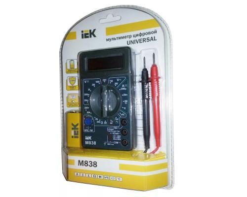 Iek TMD-2S-838 Мультиметр цифровой Universal M838 IEK
