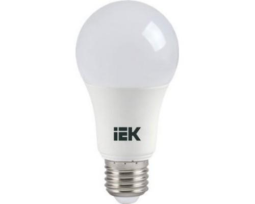 светодиодные лампы  Iek LLE-A60-11-230-30-E27 Лампа светодиодная ECO шар 11Вт 230В 3000К IEK