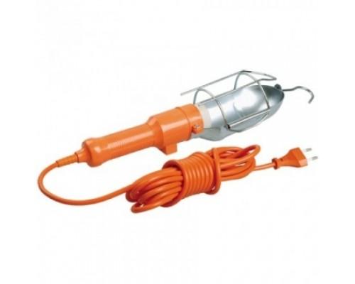 Iek WSP20-05-K09 Светильник переносной УП-1Р плоская вилка (с выкл.) 2Р/5метров 2х0,75 ИЭК