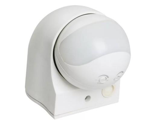 Iek LDD10-010-1100-001 Датчик движения ДД 010 белый, макс. нагрузка 1100Вт, угол обзора 180град., дальность 10м, IP44, ИЭК