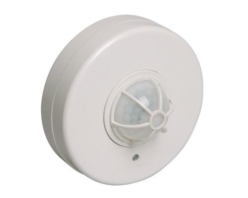 Iek LDD11-024B-1100-001 Датчик движения ДД 024В белый, макс. нагрузка 1100Вт, угол обзора 180-360гр, дальность 6м, IP33, ИЭК
