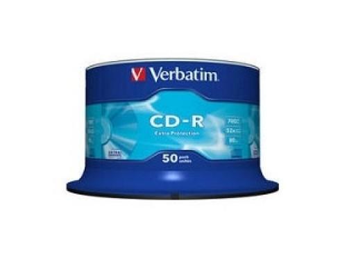 Verbatim и CD-R 50 шт. 48/52-x 700Mb, Cake Box (43351)