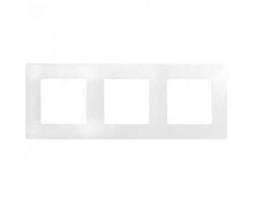 Legrand 672503 Рамка - 3 поста - Etika - белый