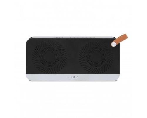 Колонки CBR CMS 147Bt черный/серебро Bluetooth колонка 3.0, 80-18000 Гц, 5 Вт*2