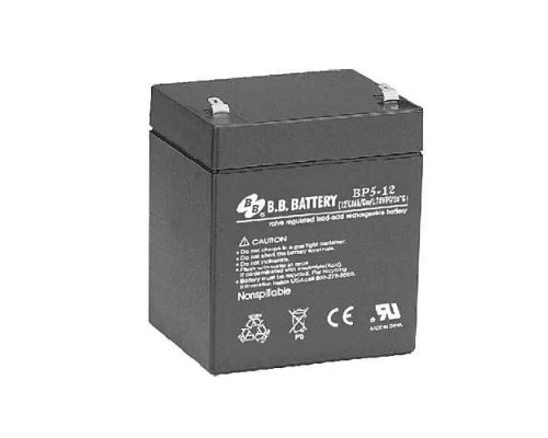 B.B. Battery Аккумулятор BP5-12 (12V 5Ah)