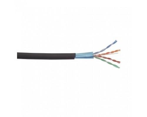 ITK LC3-C604-339 Каб. вп F/UTP, кат.6 4 x 2 x 23AWG solid LDPE 305м чер.