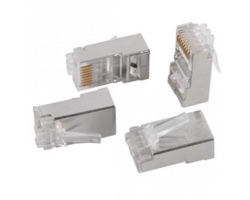 ITK CS3-1C6FS Разъём RJ-45 FTP для кабеля SOLID кат.6