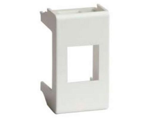 Dkc 45007 Адаптер для информационных разъемов KEYSTONE, «Viva», 1 мод., белый (кратно 3 шт)