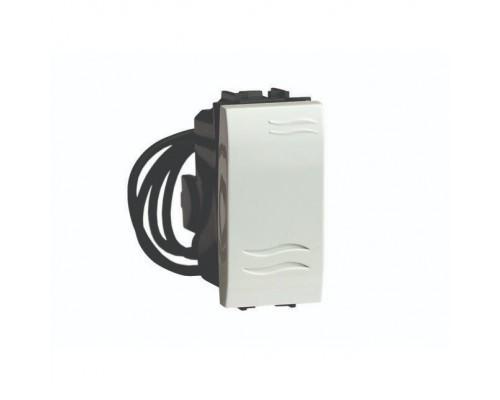 Dkc 76001BL Выключатель с подсветкой, белый, 1мод.