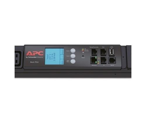 APC AP8886 Rack PDU 2G, Metered, ZeroU, 22.0kW(32A), 230V, (30) C13 & (12) C1