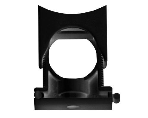 Dkc PASW2329N Держатель раздвижной с крышкой DN 23-29 мм, полиамид, цвет чёрный