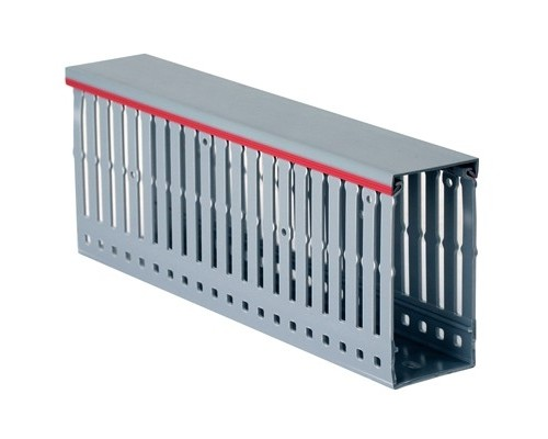 Dkc 00170RL Короб перфорированный, серый RL12 80x100 ( 2 метра)