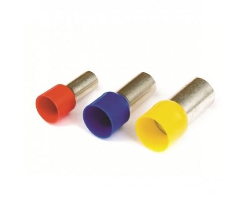 Dkc 2ART509 2ART509 Наконечник-гильза 14 мм с изолир.фланцем 10,00 кв.мм красный (НШВИ) (в уп 100 шт)