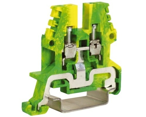 Dkc ZTO910 TEO.2, зажим для заземления желт.зелен 2,5 кв.мм