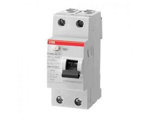 ABB 2CSF202004R1250 Выкл.диф.тока 2мод. FH202 AC-25/0,03
