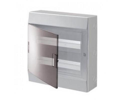 Боксы пластиковые ABB 1SPE007717F9997 настенный Mistral41 36М прозрачная дверь