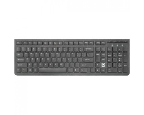 Defender UltraMate SM-535 RU 45535 Беспроводная клавиатура, черный, мультимедиа