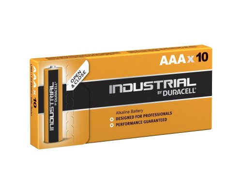 DURACELL Industrial (PROCELL) LR03/10BOX NEW (10/100/35000) (10 шт. в уп-ке)