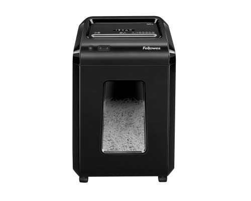 Fellowes Шредер Powershred 92Cs FS-1719301(03) P-4, 4х38мм, 18лст., 25лтр., уничтожает: скобы, карты, скрепки, CD