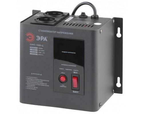 ЭРА Б0020166 СННТ-1000-Ц Стабилизатор напряжения настенный, ц.д., 140-260В/220/В, 1000ВА