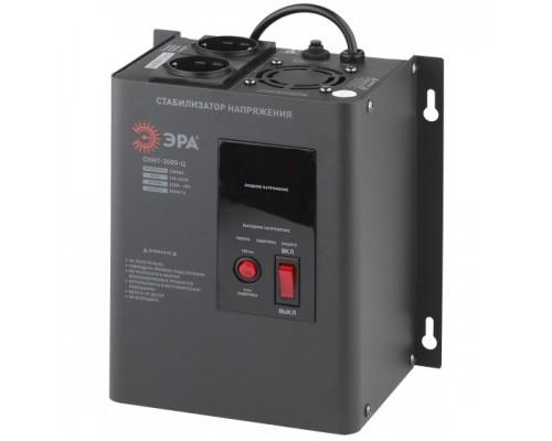 ЭРА Б0020168 СННТ-2000-Ц Стабилизатор напряжения настенный, ц.д., 140-260В/220/В, 2000ВА
