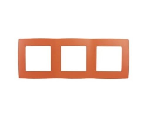 ЭРА Розетки, выключатели Эра Б0019405 12-5003-22 Рамка на поста, Эра12, оранжевый