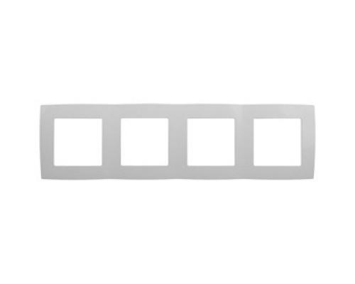 Эра Б0014771 12-5004-01 Рамка на 4 поста, Эра12, белый