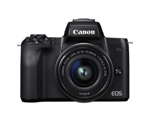 Canon EOS M50 черный 24.2Mpix 3 4K WiFi 15-45 IS STM LP-E12