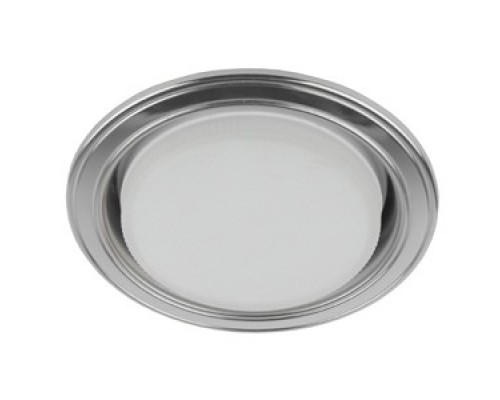 Эра Б0017630 KL35 SL/CH Светильник под лампу Gx53,220V, 13W,серебро/хром